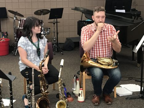 Melissa Malork, Woodwind Musician and Kevin Kerr
